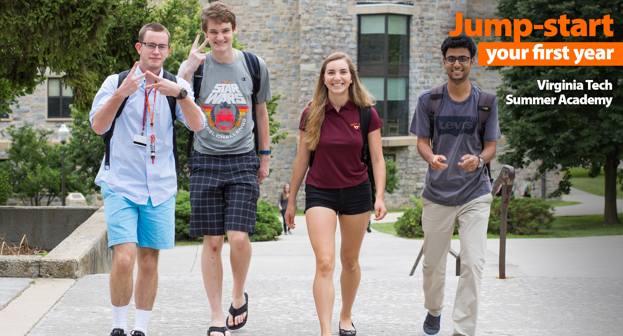 Get to know everything Hokie, early!