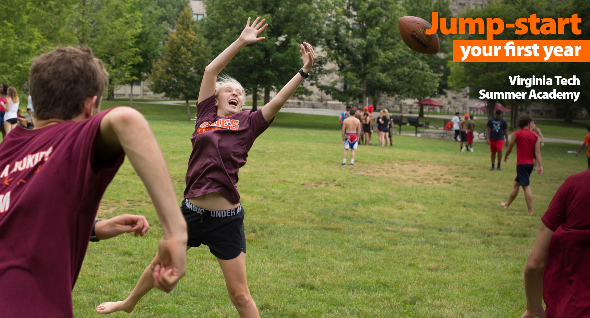 Catch the Hokie spirit!
