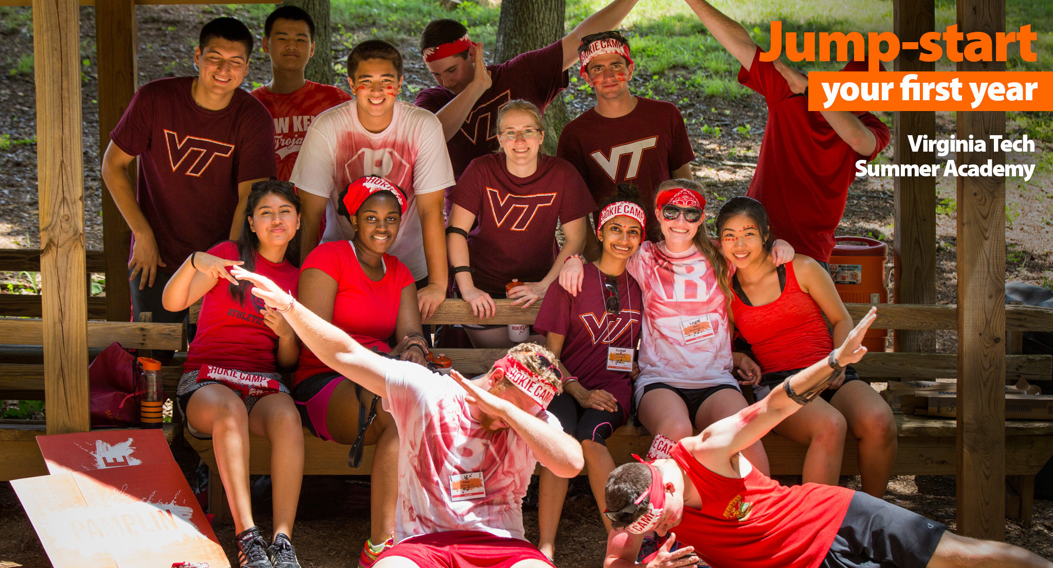 Hokie Camp and Orientation are included in Summer Academy!